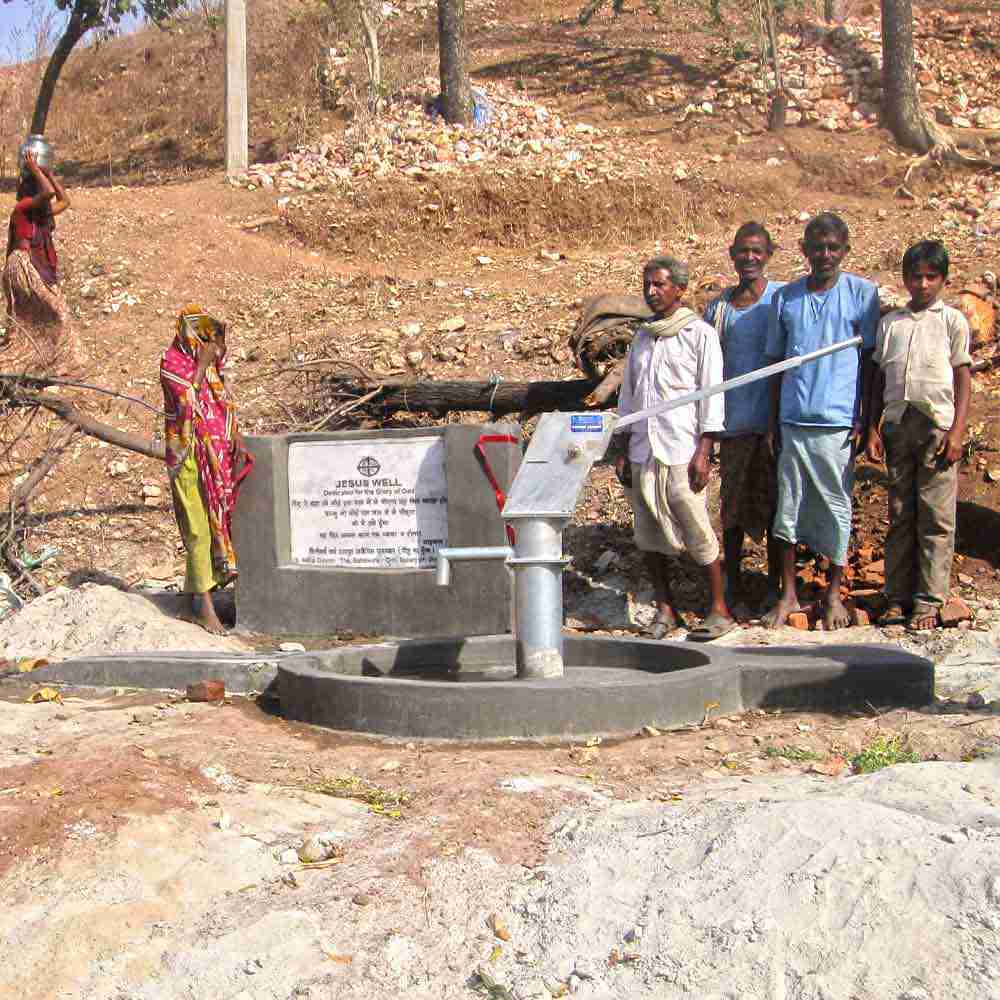 This Jesus Well provides clean water for the community even on the driest of seasons